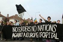 Protest against European Union enlargment summit. Dublin, Irish Republic. - Paul Mattsson - 01-05-2004