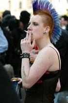May day protest against European Union enlargment summit. Dublin, Irish Republic. - Paul Mattsson - 2000s,2004,activist,activists,against,Anarchist,Anarchists,Anti,anti capitalism,Anti Capitalist,Beer,CAMPAIGN,campaigner,campaigners,CAMPAIGNING,CAMPAIGNS,Can,CAPITALISM,capitalist,Cigarette,CIGARETTE