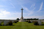 British and Commonwealth first world war cemetery at Mont Huon, Somme region, France. There are around 3000 soldiers buried here - Paul Mattsson - 07-06-2004