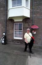 Norham village, Northumberland - Paul Mattsson - 2000s,2002,ACE culture,communities,community,Effigy,EQUALITY,excluded,exclusion,FEMALE,HARDSHIP,impoverished,impoverishment,INEQUALITY,kitsch,LFL lifestyle & leisure,Marginalised,Norham,Northumberland