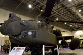 Agusta Westland Apache helicopter gunship on display, this powerful machine has recently gone into operational service with the British Army Air Corps. Defence Systems and Equipment International Exhi... - Paul Mattsson - 09-09-2003