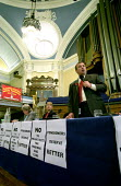 Protest rally in Westminster Central Hall calling for an increase in the State Pension. Organised by the National Pensioners Convention. Brendan Barber, TUC Deputy General Secretary. Armistice Day ral... - Paul Mattsson - 11-11-2002