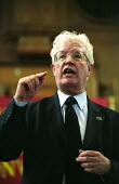 Armistice Day rally in Westminster Central Hall calling for an increase in the State Pension. Organised by the National Pensioners Convention. Rodney Bickerstaffe, former UNISON Gen Sec and NPC Presid... - Paul Mattsson - 11-11-2002