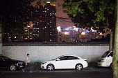 Cars parked in a residential area. Shanghai, China. - Connor Matheson - 02-09-2015