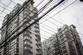 Housing and power cables, Shanghai, China. - Connor Matheson - 04-10-2015