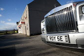 Rolls Royce Phantom and houses to let, Yorkshire - John Harris - 2010s,2015,accommodation,AFFLUENCE,AFFLUENT,AUTO,AUTOMOBILE,AUTOMOBILES,AUTOMOTIVE,board,board boards,Bourgeoisie,business,car,cars,communicating,communication,day,ebf,Economic,economy,elite,elitism,E
