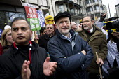 Jeremy Corbyn MP and Barry Gardiner MP The People's March for Climate, Justice and Jobs, London - Jess Hurd - 29-11-2015