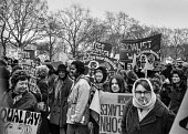 Women's Liberation march London - Martin Mayer - ,1970s,1971,activist,activists,Asian,Asians,BAME,BAMEs,banner,banners,black,BME,bmes,CAMPAIGN,campaigner,campaigners,CAMPAIGNING,CAMPAIGNS,cultural,DEMONSTRATING,demonstration,DEMONSTRATIONS,diversity