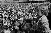 SDLP rally opposing internment without trial imposed by the British government, Derry, Northern Ireland 1971 - Martin Mayer - 1970s,1971,boy,boys,Catholic,Catholics,child,CHILDHOOD,children,Civil Rights,conflict,Conflicts,Derry,FEMALE,government,internment without trial,Ireland,Irish,juvenile,juveniles,kid,kids,Londonderry,m