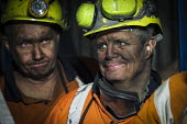 Miners coming off shift at Kellingley Colliery. Knottingley near Pontefract, Yorkshire.The last deep coal mine is scheduled to be closed in December 2015 bringing the deep coal mining industry to an e... - Mark Pinder - 2010s,2015,capitalism,capitalist,change,closed,closing,closure,closures,coal,Coal Industry,Coal Mine,coalfield,coalindustry,collieries,colliery,coming,deindustrialisation,Deindustrialization,EBF,Econo