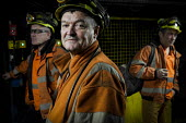 Miners going on shift at Kellingley Colliery. Knottingley near Pontefract, Yorkshire.The last deep coal mine is scheduled to be closed in December 2015 bringing the deep coal mining industry to an end... - Mark Pinder - 03-12-2015