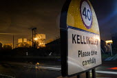 The last deep coal mine in the UK at Kellingley Colliery near Knottingley, Yorkshire which is scheduled to be closed in December 2015 bringing the deep coal mining industry to an end in the UK. - Mark Pinder - 03-12-2015