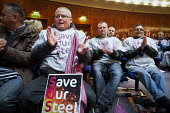 Save Our Steel Rally, Sheffield City Hall, Yorkshire - Mark Pinder - 21-11-2015
