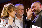 Helena Kennedy, Jeremy Corbyn and Greg Foxsmith speaking. Voices for Justice - Save Legal Aid, Justice Alliance rally. Conway Hall. London. - Jess Hurd - 2010s,2016,activist,activists,Austerity Cuts,campaign,campaigner,campaigners,campaigning,CAMPAIGNS,DEMONSTRATING,Demonstration,DEMONSTRATIONS,FEMALE,freedom,Human Rights,Jeremy Corbyn,Justice Alliance