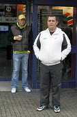 David Adams (right) is 35 year old, unemployed and suffers from depression, he is an ex-prisoner and ex-drug addict. He knows there is no chance of ever working again as he suffers from ill health fro... - David Mansell - 08-11-2010