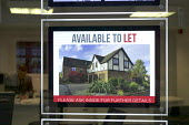 Mansion avalible to let, estate agent's window, Stratford upon Avon, Warwickshire - John Harris - 14-12-2015