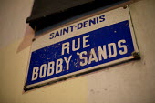 Rue Bobby Sands, Saint Denis, Paris. Named after a member of the Provisional Irish Republican Army who died on hunger strike while imprisoned at HM Prison Maze - Jess Hurd - 11-12-2015