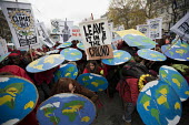 Red Lines climate change protests COP21 Climate Summit. Paris. Leave it in the ground - Jess Hurd - 12-12-2015