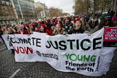 Red Lines climate change protests COP21 Climate Summit. Paris. - Jess Hurd - 12-12-2015