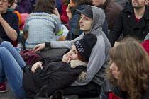 Wasted Youth, Red Lines climate change protests COP21 Climate Summit. Paris. - Jess Hurd - 2010s,2015,activist,activists,adult,adults,boyfriend,BOYFRIENDS,CAMPAIGN,campaigner,campaigners,CAMPAIGNING,CAMPAIGNS,career,CAREERS,choice,choices,choosing,Climate Change,COP21,couple,COUPLES,DEMONST
