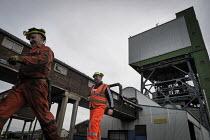 Closure of the last British deep coal mine, Kellingley Colliery.Last ever shift ending, Yorkshire - Mark Pinder - 18-12-2015