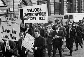 Protest and national strike against Labour Government plan to reform industrial relations In Place of Strife, london - NLA - 01-05-1969