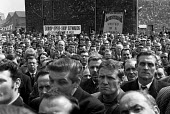 Protest and national strike against Labour Government plan to reform industrial relations In Place of Strife, Pierhead, Liverpool - NLA - 01-05-1969