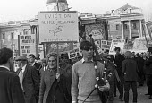 NUAW Agricultural workers protest against low pay, long hours and tied cottages, London 1969 - NLA - 1960s,1969,activist,activists,against,Agricultural workers,CAMPAIGN,campaigner,campaigners,CAMPAIGNING,CAMPAIGNS,DEMONSTRATING,Demonstration,DEMONSTRATIONS,EARNINGS,EQUALITY,Income,INCOMES,inequality,