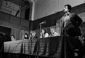 Tariq Ali (IMG) speaking United Troops Out Movement Smash H Block meeting, Conway Hall - Philip Wolmuth - 27-02-1980