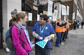 Junior doctors strike over new contract. St Marys Hospital, Paddington, London. - Philip Wolmuth - 12-01-2016