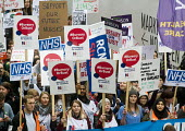 Save NHS Bursary March, London. Protest by NHS staff and supporters against Government proposals to remove bursaries from sudents studying to become nurses and midwives, which will leave them with deb... - Stefano Cagnoni - 2010s,2016,activist,activists,against,Austerity Cuts,Bursaries,Bursary,CAMPAIGN,campaigner,campaigners,CAMPAIGNING,CAMPAIGNS,cuts,debts,DEMONSTRATING,Demonstration,DEMONSTRATIONS,fee,fees,female,Gover