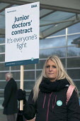 Junior doctors strike over new contract. Worcestershire Royal Hospital - Timm Sonnenschein - 12-01-2016