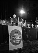 Labour leader Harold Wilson speaking at a Labour Party Special conference on EEC membership (later European Union) - Martin Mayer - 19-10-1971