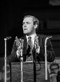 Labour MP Tony Benn opposing the Common Market, speaking at a Labour Party Special conference on EEC membership (later European Union) - Martin Mayer - 10-10-1971