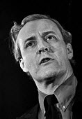 Labour MP Tony Benn speaks at a Labour Party Special conference on EEC membership (later European Union) - Martin Mayer - 25-04-1975