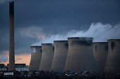 Eggborough coal fired Power Station also uses biomass, Yorkshire - John Harris - 2010s,2016,C02 Emissions,coal,coal fired,cooling towers,EBF,Economic,Economy,ELECTRICAL,electricity,environmental degradation,generator,generators,house,houses,Housing,Housing Estate,POLLUTANT,POLLUTE