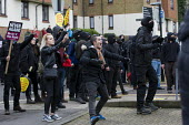 Kent Anti Racism Network protest against the National Front anti refugee protest Dover - Jess Hurd - 30-01-2016