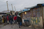 Refugees in the makeshift Jungle refugee camp, Calais, France. - Jess Hurd - 18-02-2016