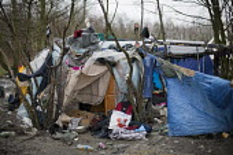 Squalid conditions, Grande-Synthe refugee camp Dunkirk, France. - Jess Hurd - 2010s,2016,BME black,camp,camps,Diaspora,displaced,ethnic,ETHNICITY,eu,Europe,european,europeans,europeregi,eurozone,foreign,foreigner,foreigners,france,France.,french,immigrant,immigrants,immigration