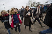 Judge visiting the Jungle refugee camp Calais, France, prior to a demolition planned by French authorities - Jess Hurd - 23-02-2016