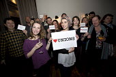 Heart Unions social organised by the NUJ New Media Branch campaign against the Trade Union Bill. London. - Jess Hurd - 10-02-2016