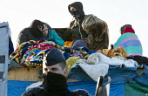 Demolition of the makeshift Jungle refugee camp, Calais, France - Jess Hurd - 02-03-2016