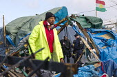 Demolition of the Jungle refugee camp, Calais, France - Jess Hurd - 03-03-2016
