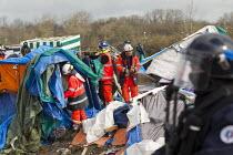 Demolition of the Jungle refugee camp, Calais, France - Jess Hurd - 2010s,2016,authorities,BME black,Calais,camp,camps,demolish,DEMOLISHED,demolishing,demolition,developer,developers,DEVELOPMENT,Diaspora,displaced,ethnic,ETHNICITY,eu,Europe,european,europeans,europere