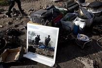 CRS riot police. Demolition of the Jungle refugee camp, Calais, France - Jess Hurd - 03-03-2016