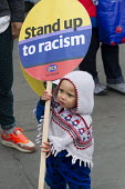 Stand Up to Racism National Demonstration - Refugees Welcome, Stand Up to Racism, Islamaphobia, anti-Semitism and fascism. Central London. - Jess Hurd - 19-03-2016