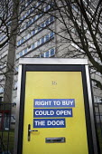 Right to Buy government advertisement encouraging council tenants to buy their homes, side of a telephone box, Aston, Birmingham - Jess Hurd - 2010s,2016,advertisement,advertisements,advertising,Aston,Birmingham,blocks,box,boxes,buy,buyer,buyers,buying,cities,City,commodities,commodity,communicating,communication,council,council estate,Counc