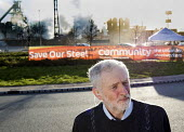 Jeremy Corbyn meets Tata Steel workers in Port Talbot - Paul Box - 2010s,2016,banner,banners,Community Union,FACTORIES,factory,Jeremy Corbyn,Labour Party,member,member members,members,MP,MPs,people,plant,plants,POL,political,politician,politicians,Politics,Port,ports