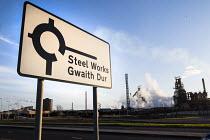 Tata Steel, Port Talbot, Wales - Paul Box - 2010s,2016,Blast furnace,capitalism,capitalist,communicating,communication,EBF,Economic,Economy,environmental degradation,FACTORIES,factory,FOUNDRIES,FOUNDRY,furnace,FURNACES,Industries,industry,maker