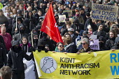 Kent Anti Racism Network protest against the National Front anti refugee protest Dover. - Jess Hurd - 02-04-2016